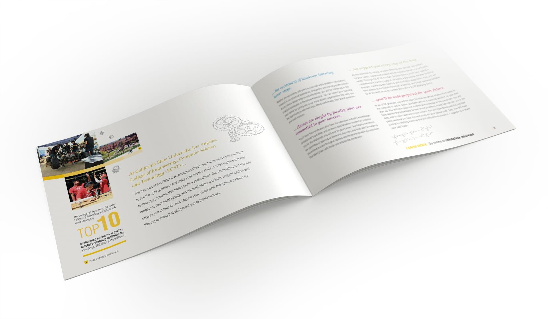 Undergrad brochure inner spread