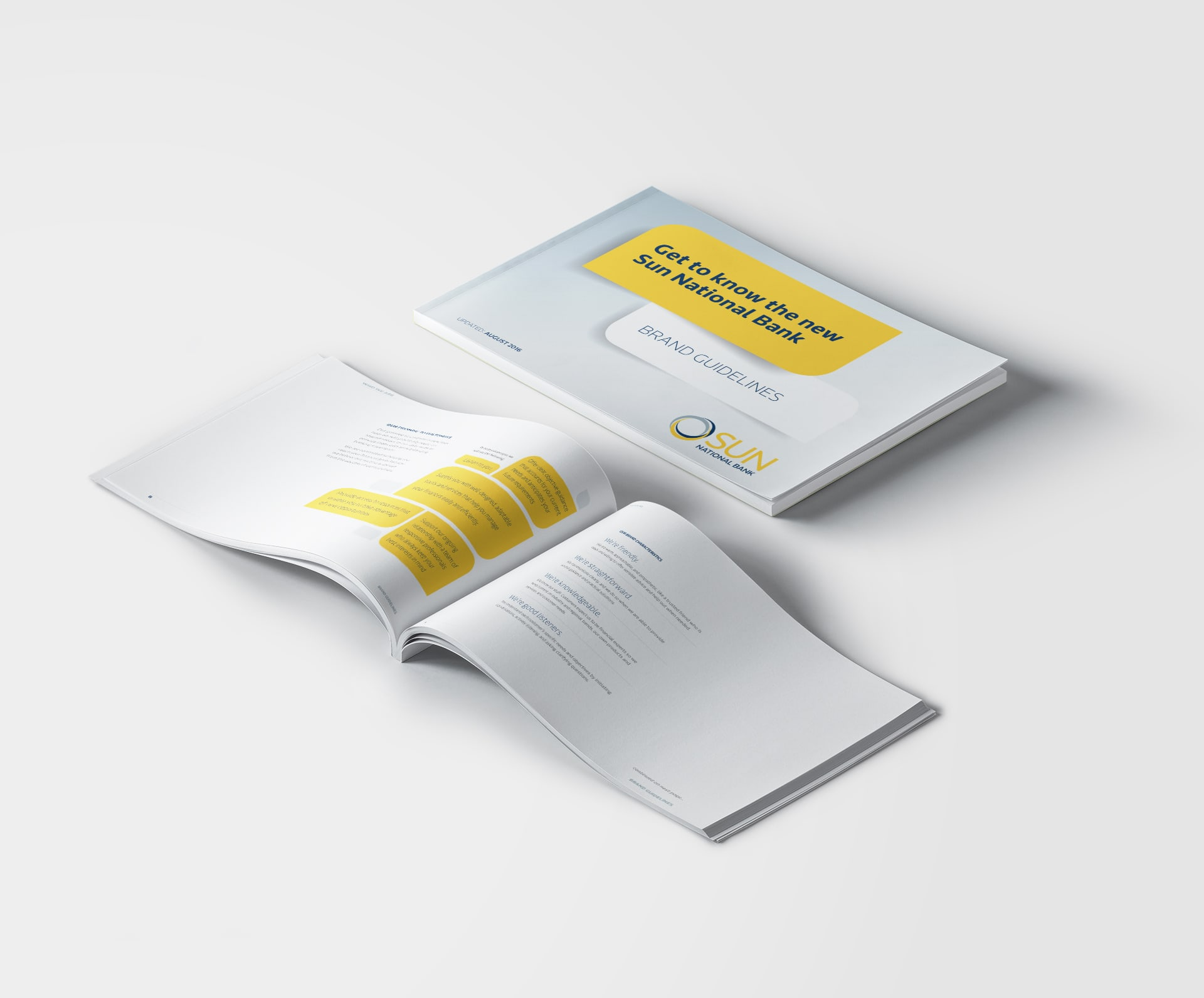 Sun National Bank brand guidelines