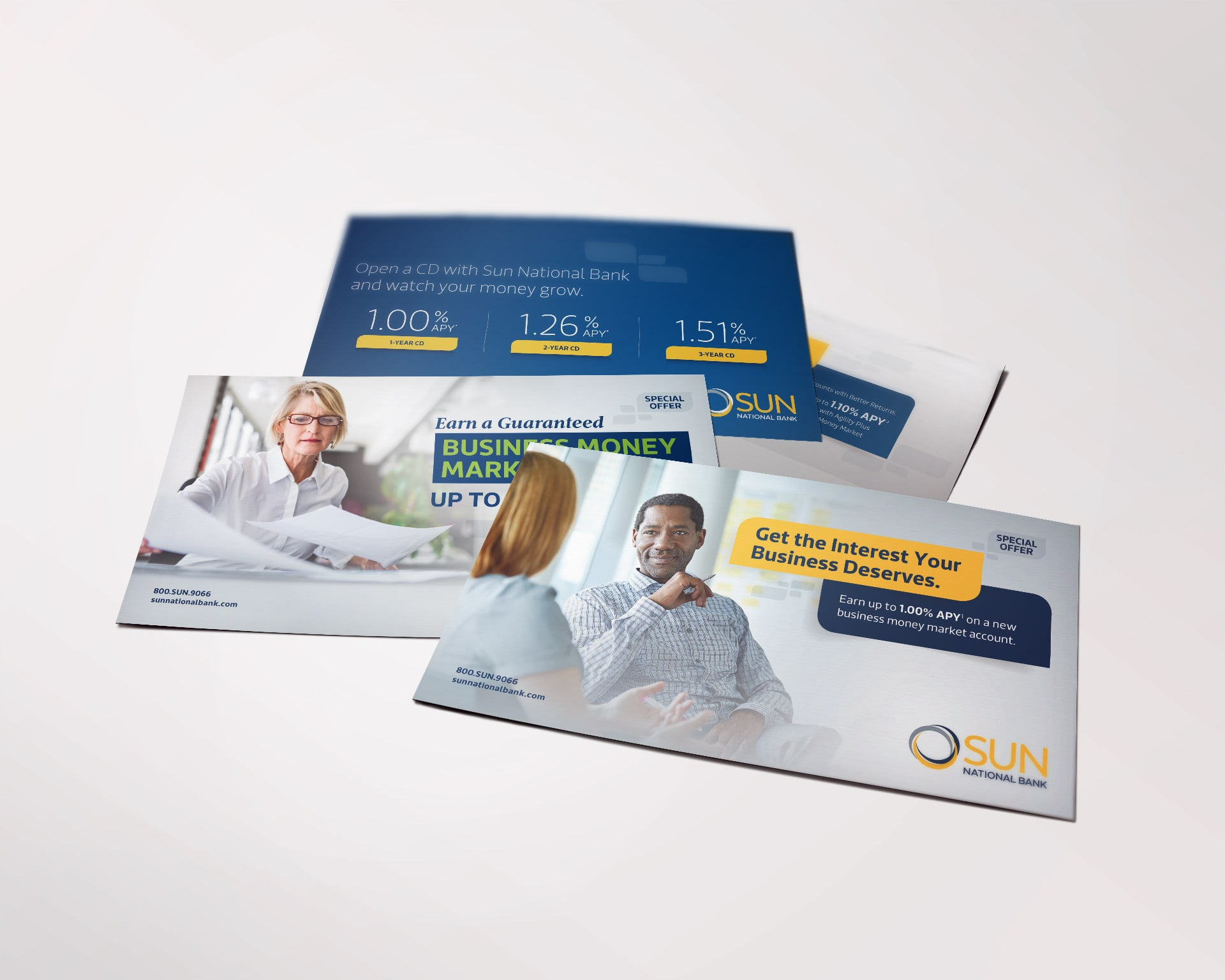 Sun National Bank direct mailers