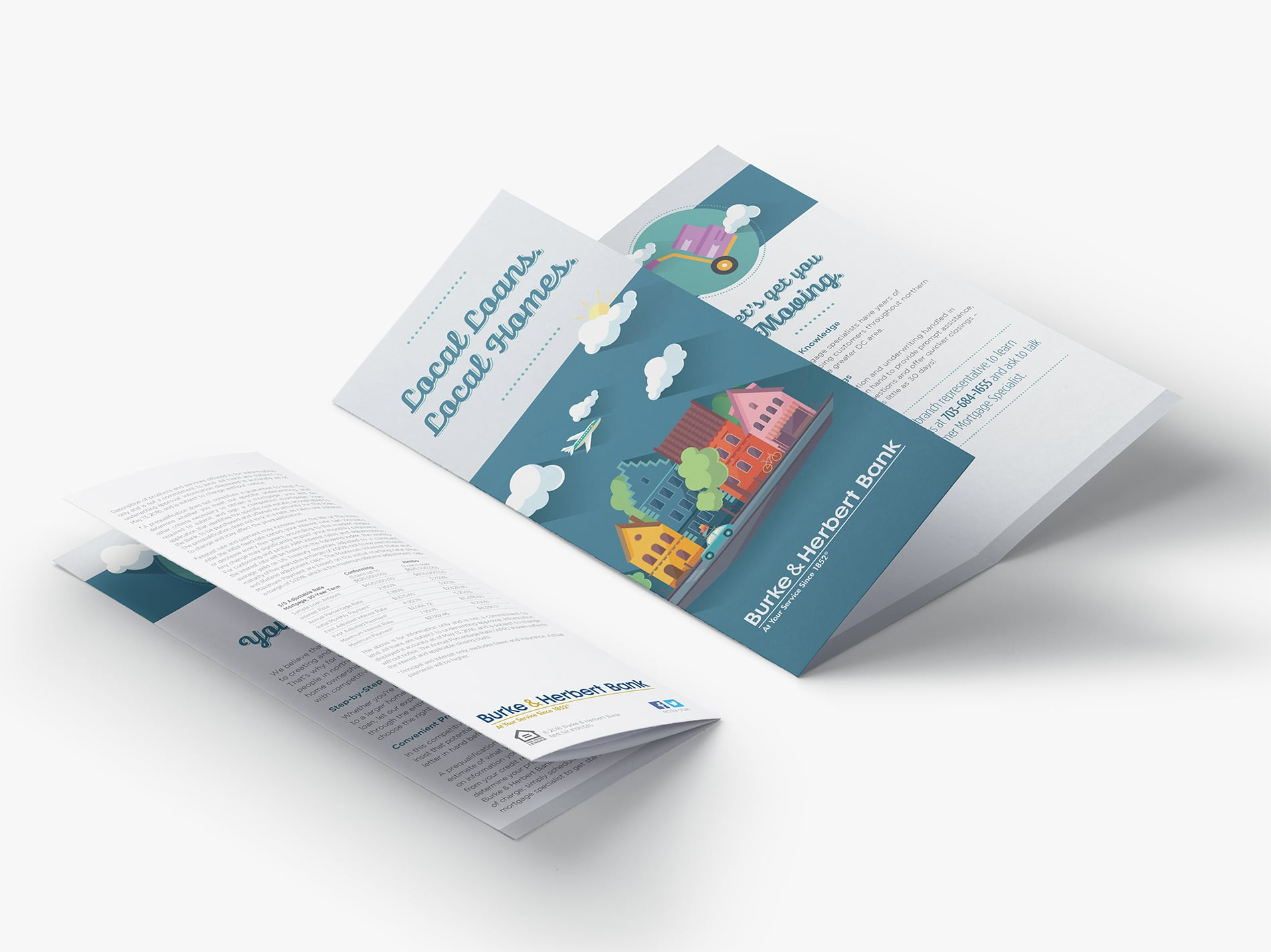 "Mortgage campaign ""take one"" trifold brochure"