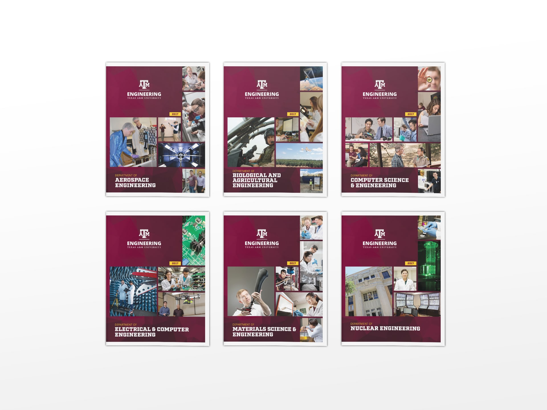Department brochures