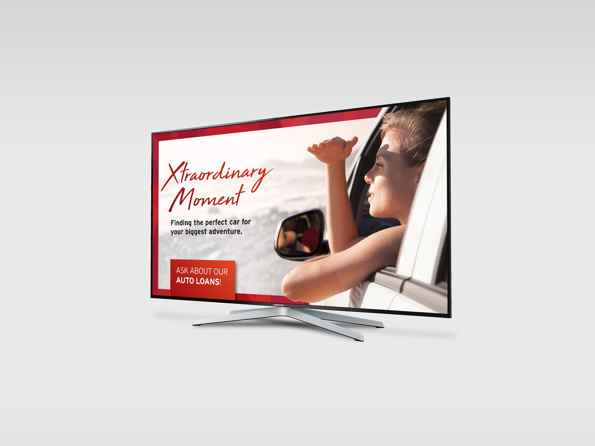 Second in-branch tv display
