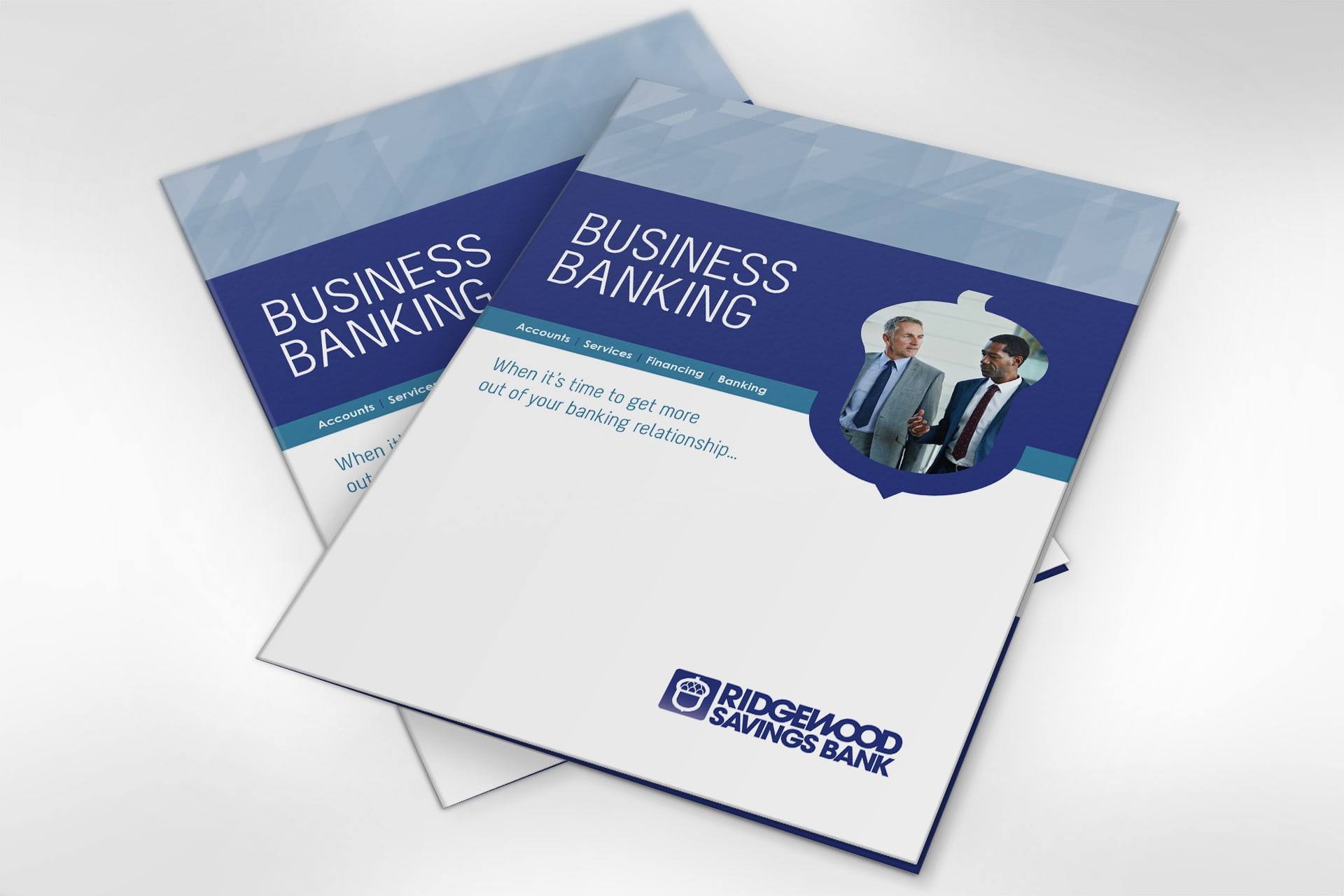 Business banking folder