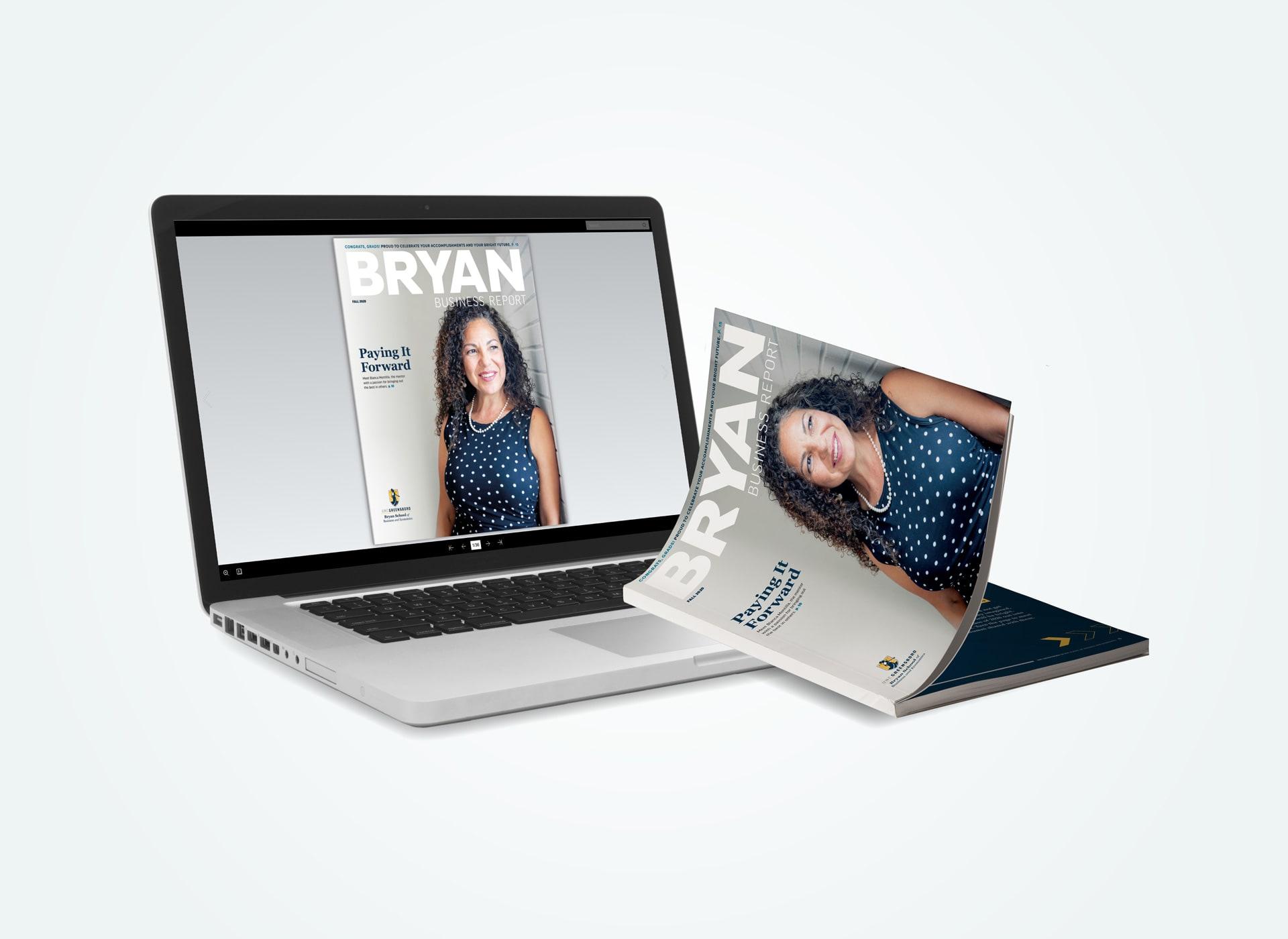 Digital and print magazine